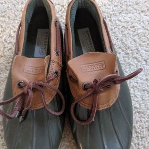 Sperry for J Crew Rain Shoes